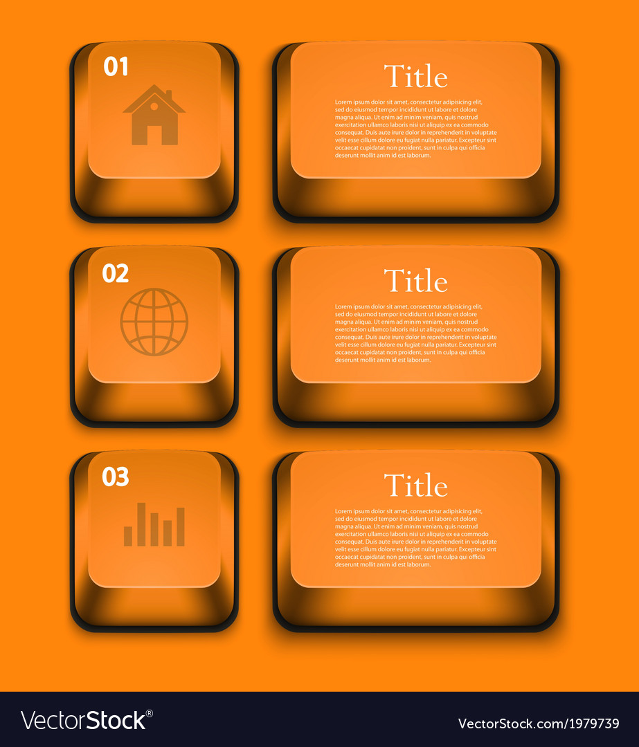 Modern infographic element design Eps 10