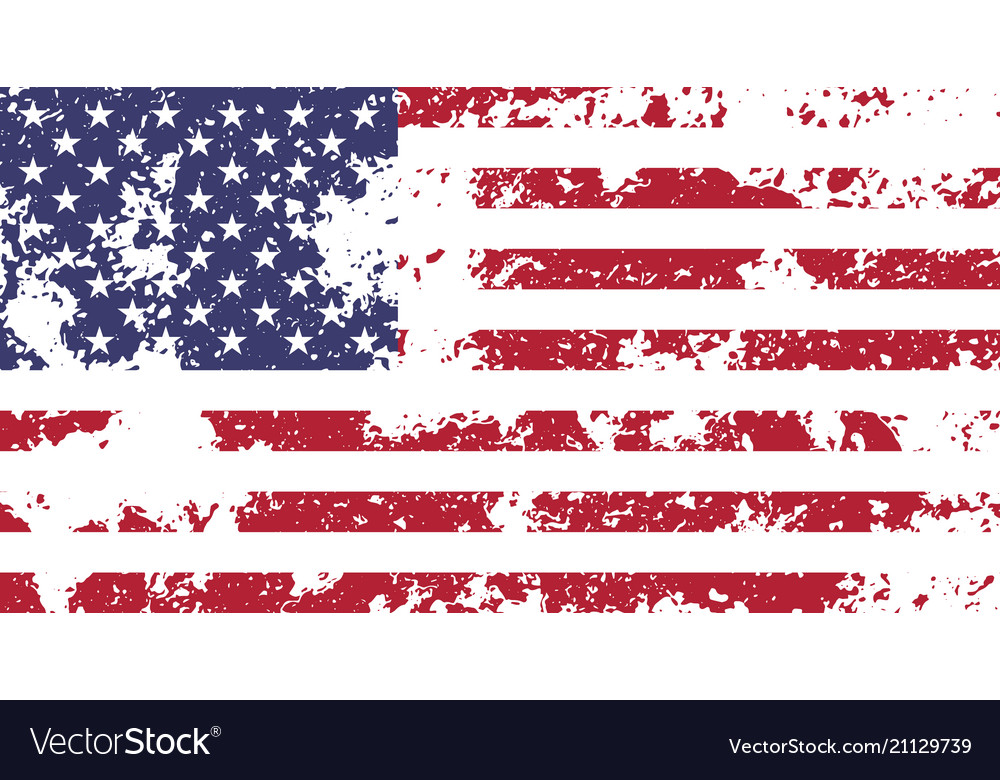 Usa official national flag