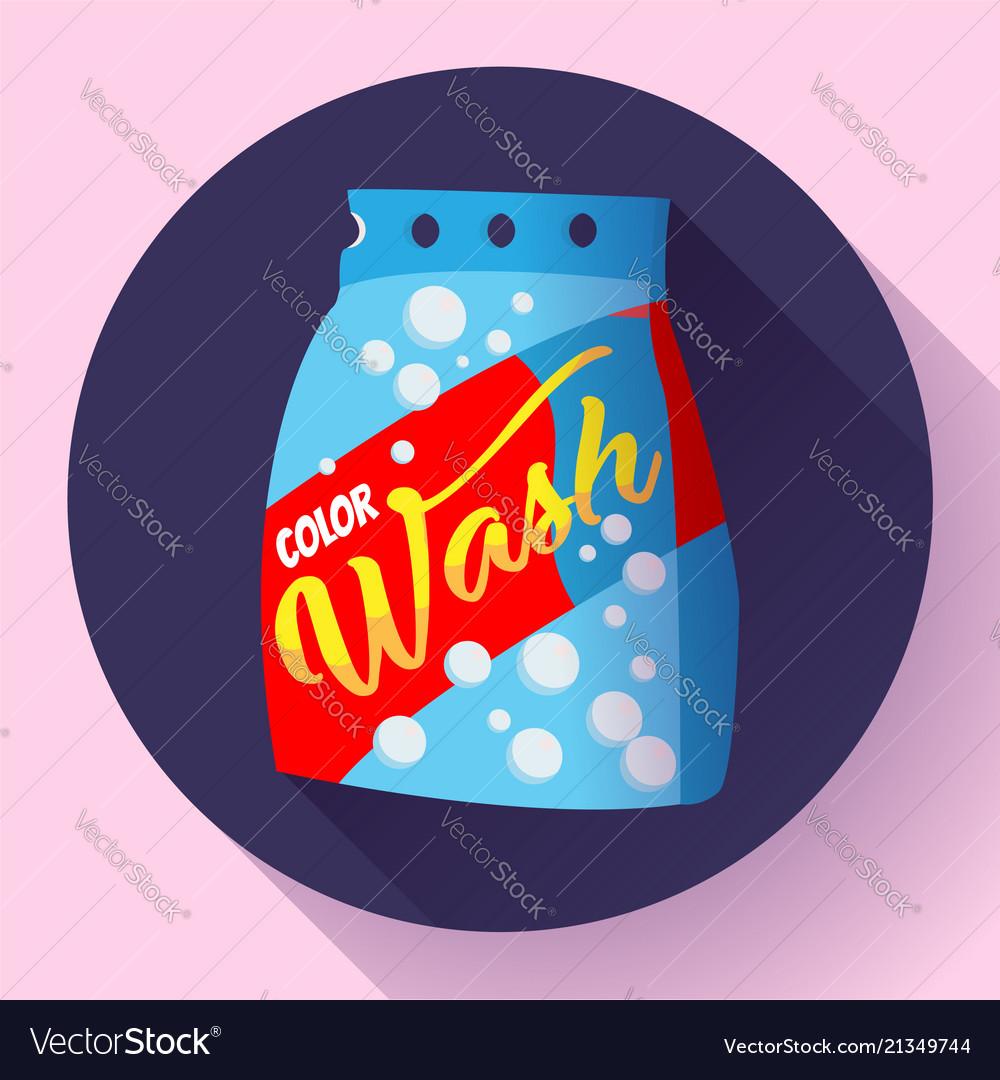 Cartoon washing powder laundry powder