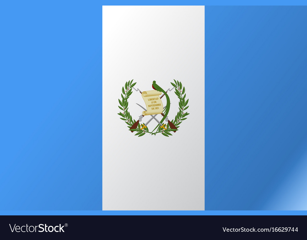Flag guatemala flat icon