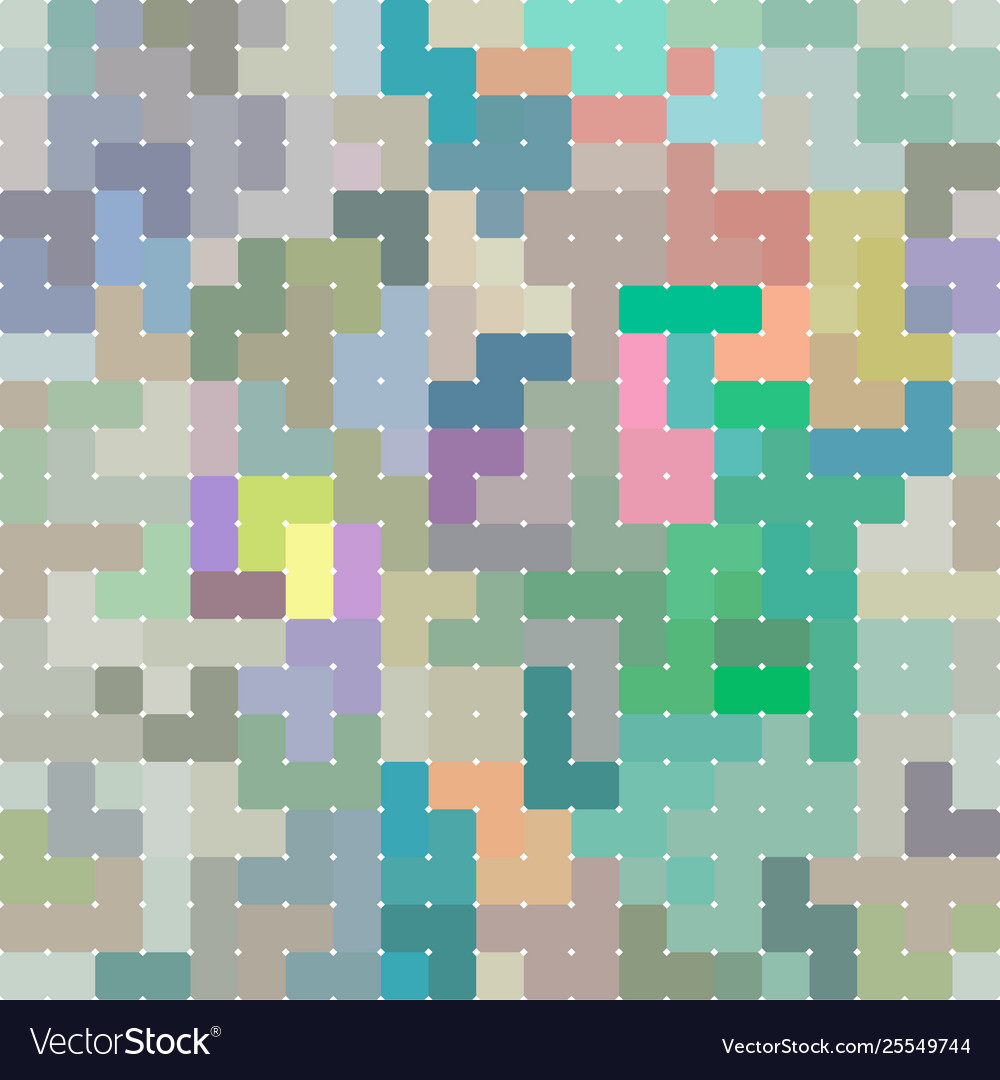 Rectangle seamless pattern abstract background