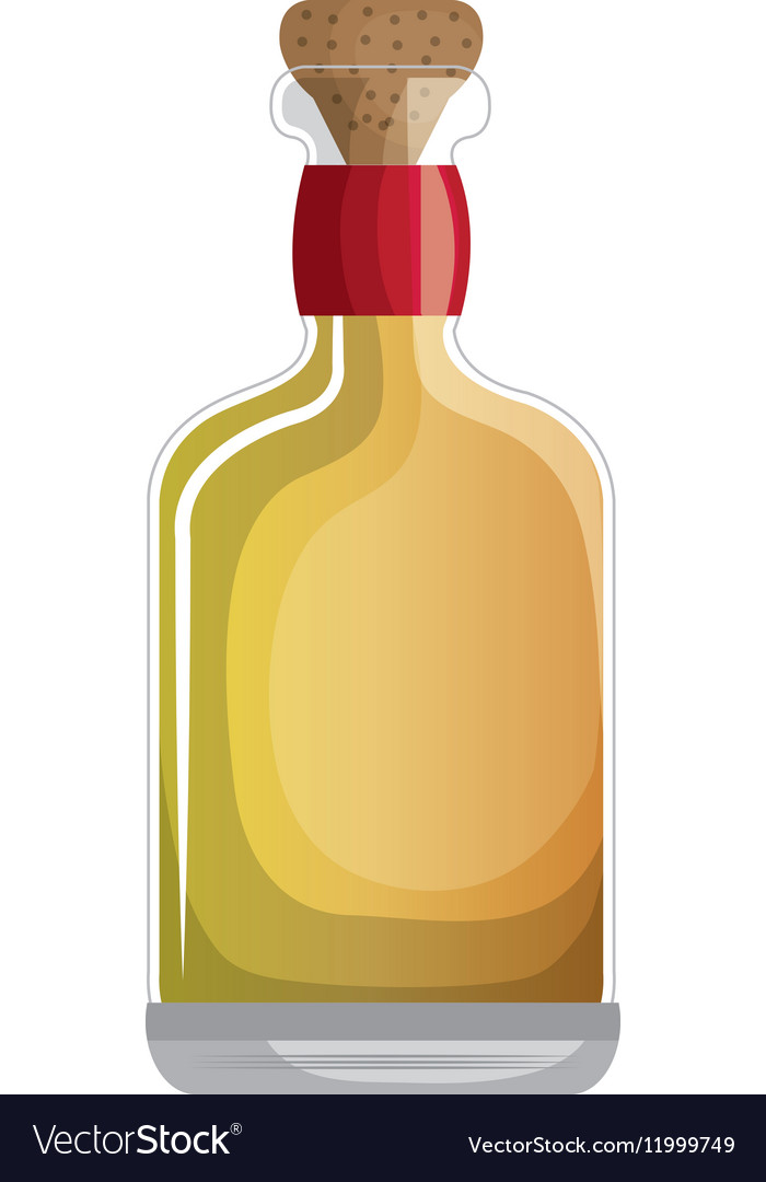 Mexican tequila bottle icon