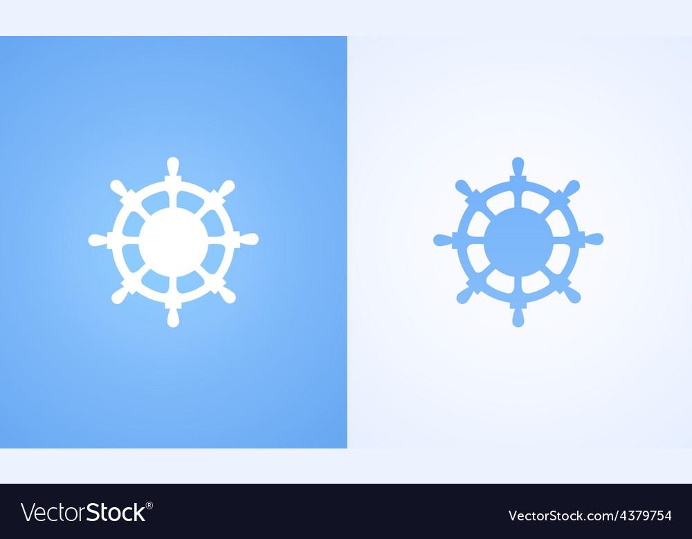 Logo of Steering wheel