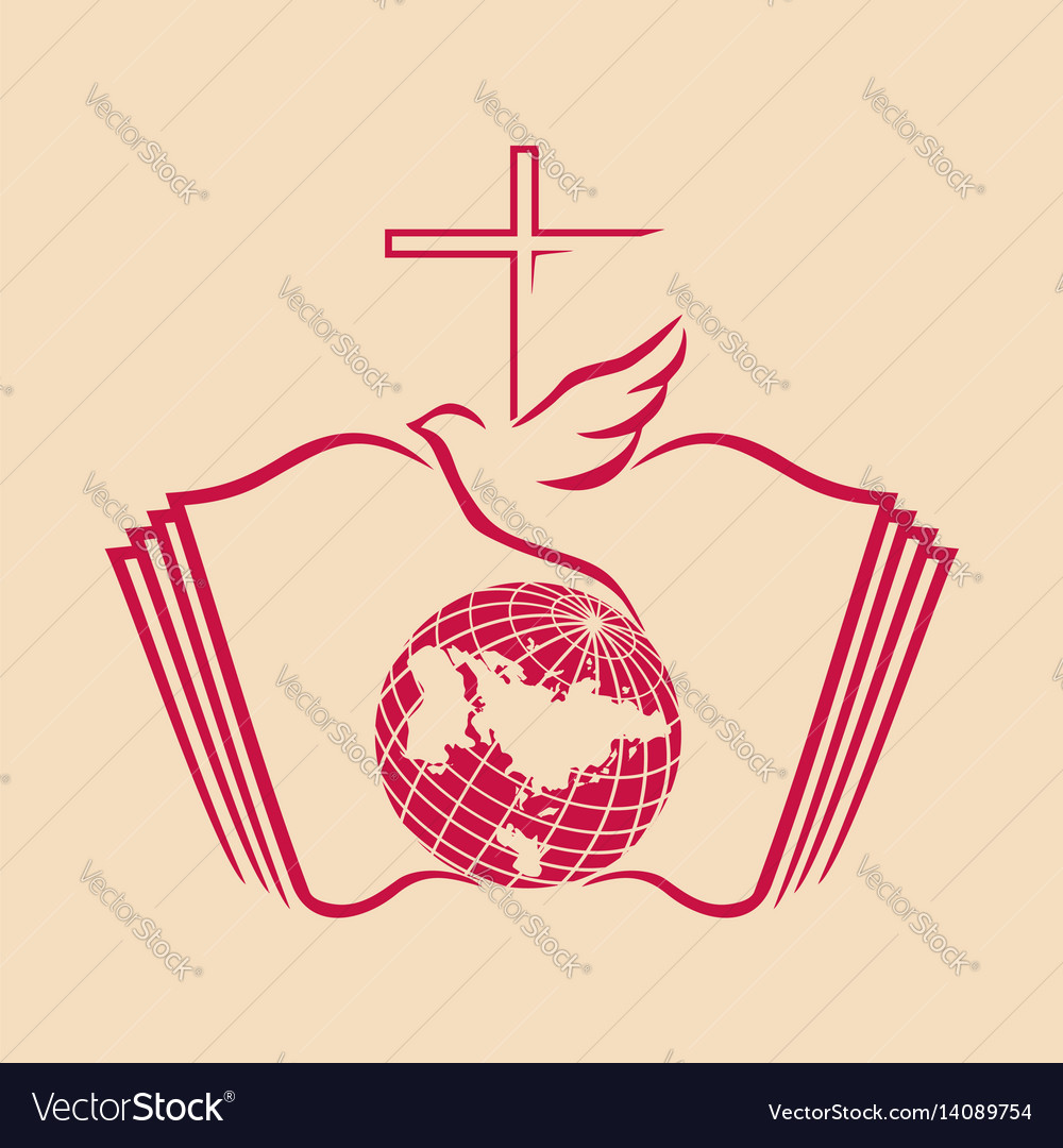 The church of jesus christ Royalty Free Vector Image
