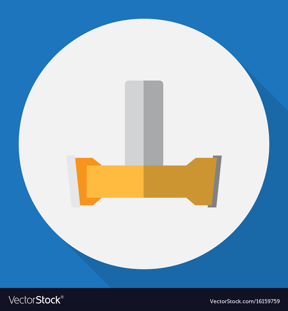 Of instruments symbol on vector image