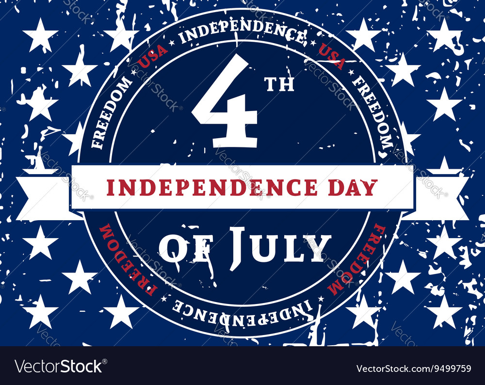 Symbol American holiday Independence Day