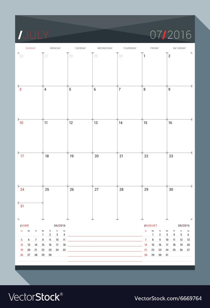3 year monthly calendar