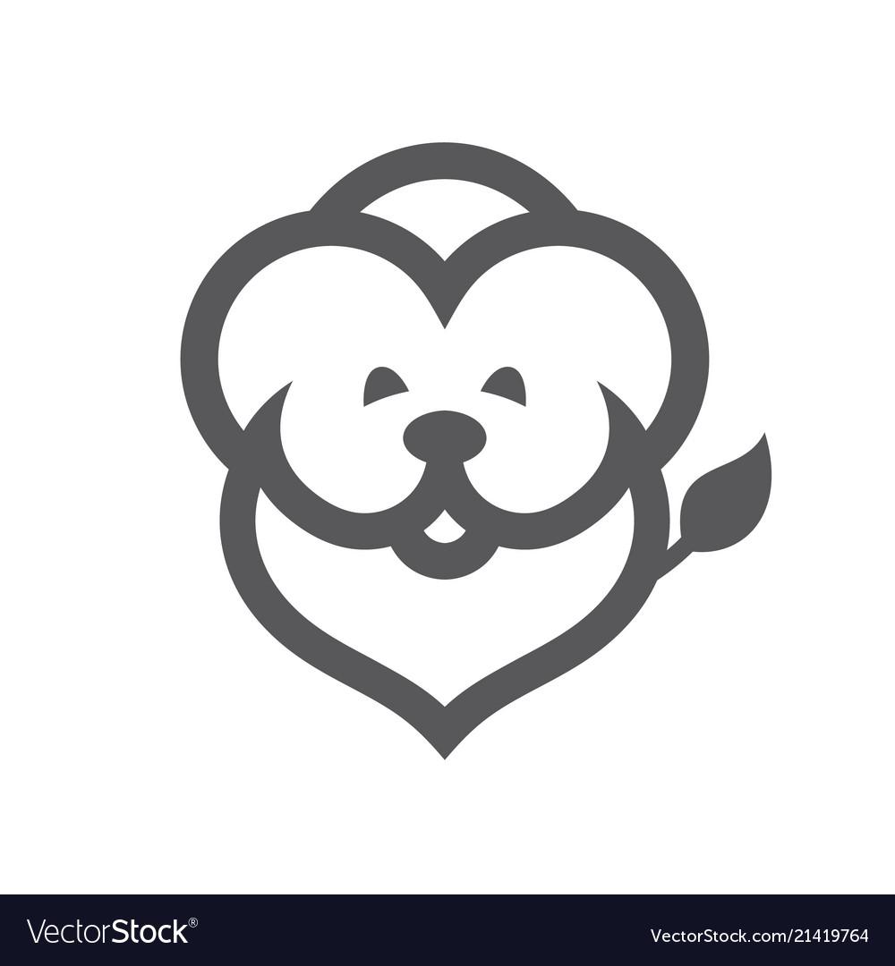 Lion simple sign
