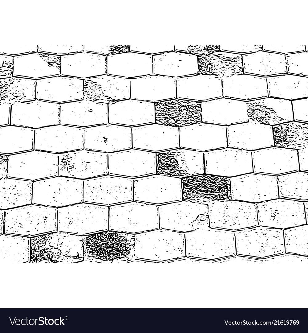 Antique brick wall texture grunge old stone