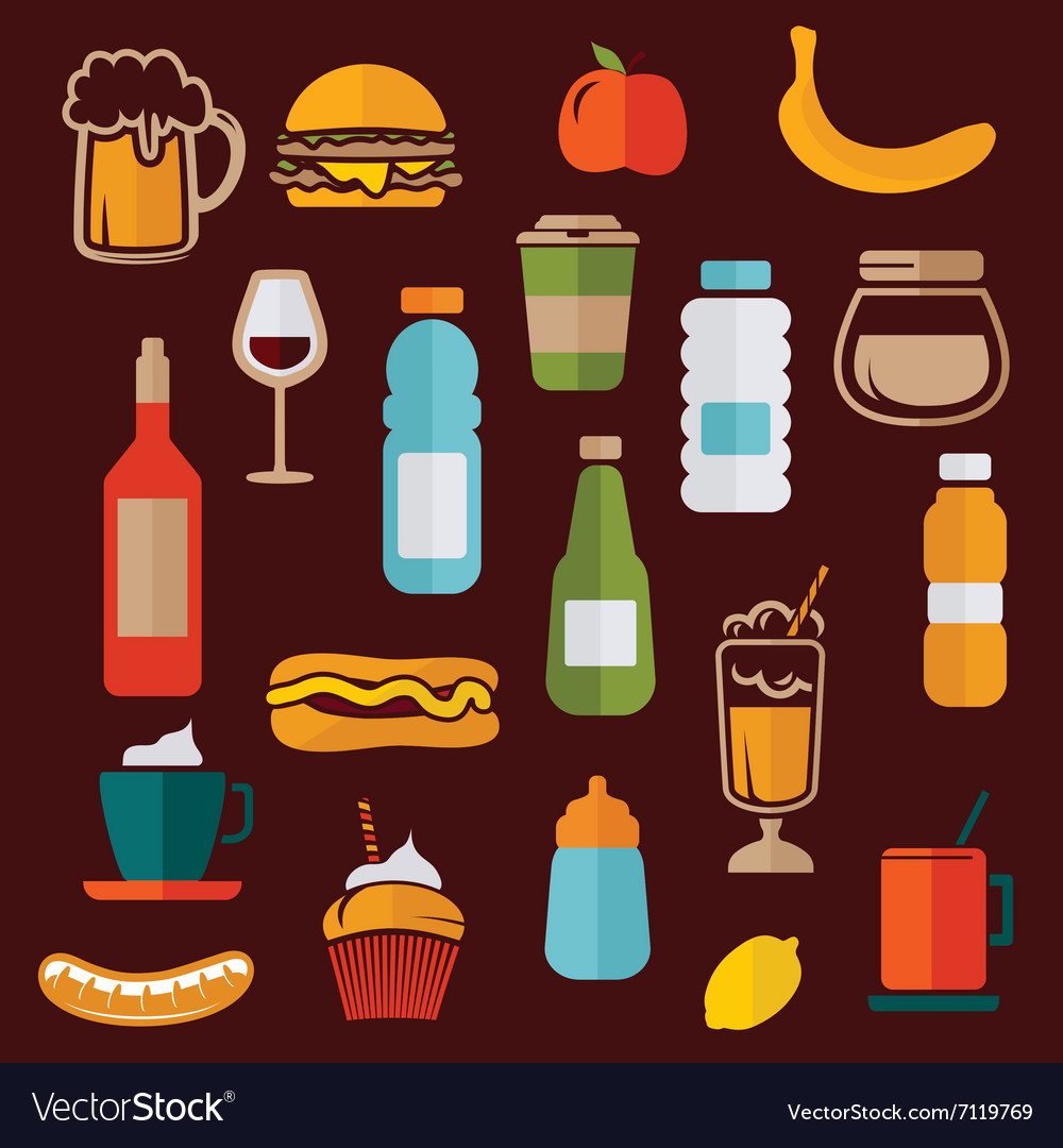 Simple food icons2