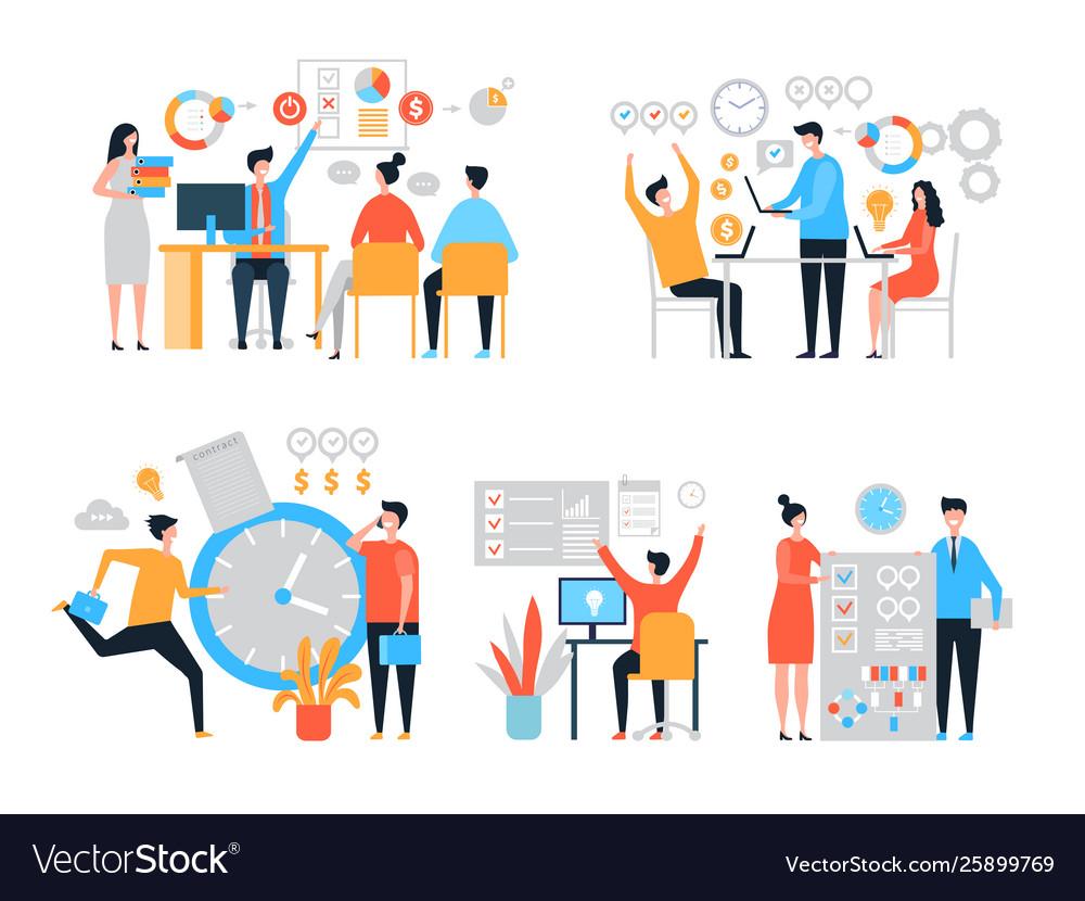 Work organization task management people