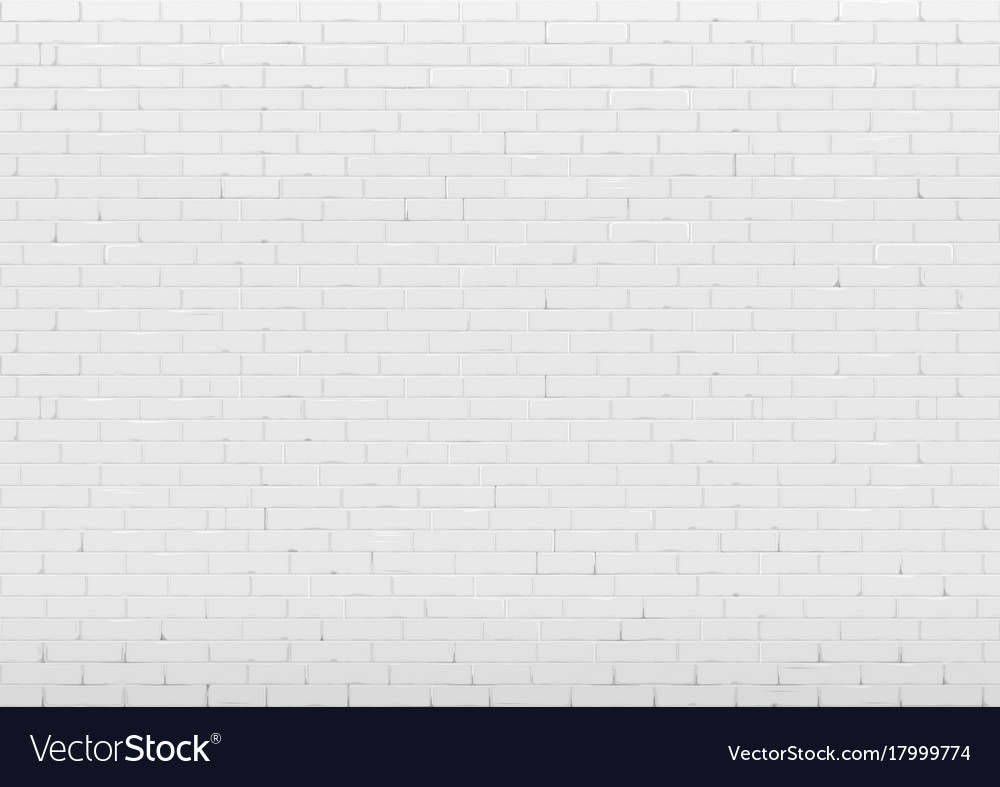 Background With White Brick Wall Royalty Free Vector Image