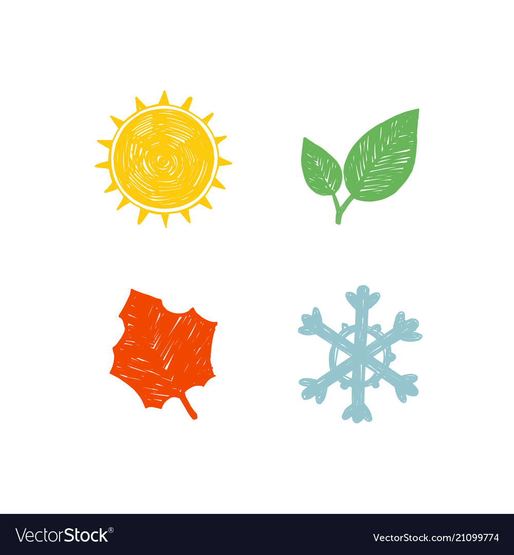 Four seasons of the year