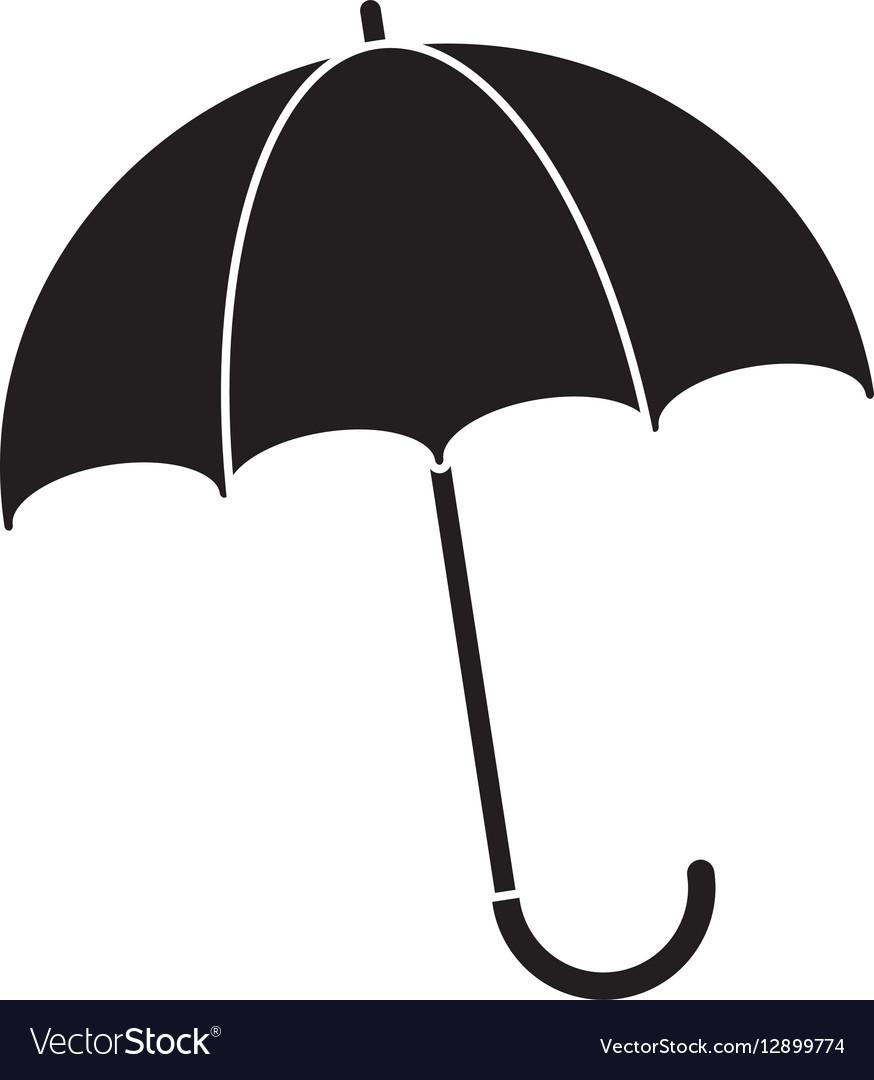 Silhouette umbrella accessory