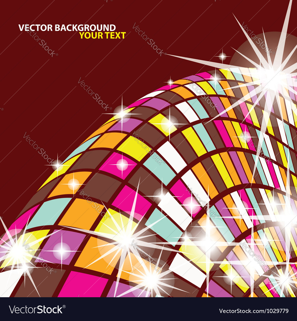 Abstract Mosaics Background vector image
