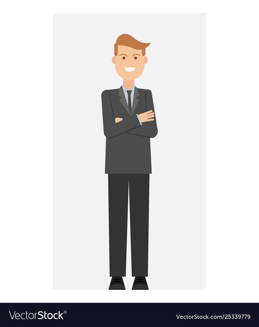 Businessman office worker man