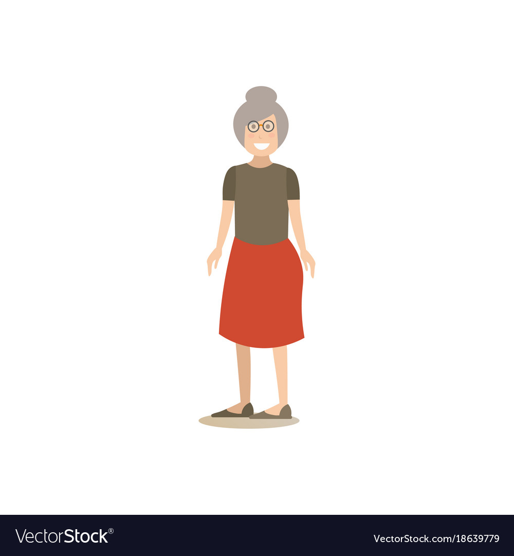 Grandmother concept in flat
