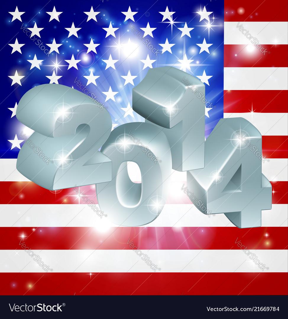 2014 american flag
