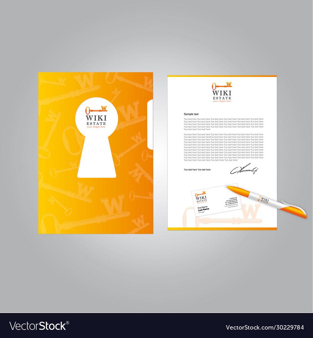 Real estate brand book