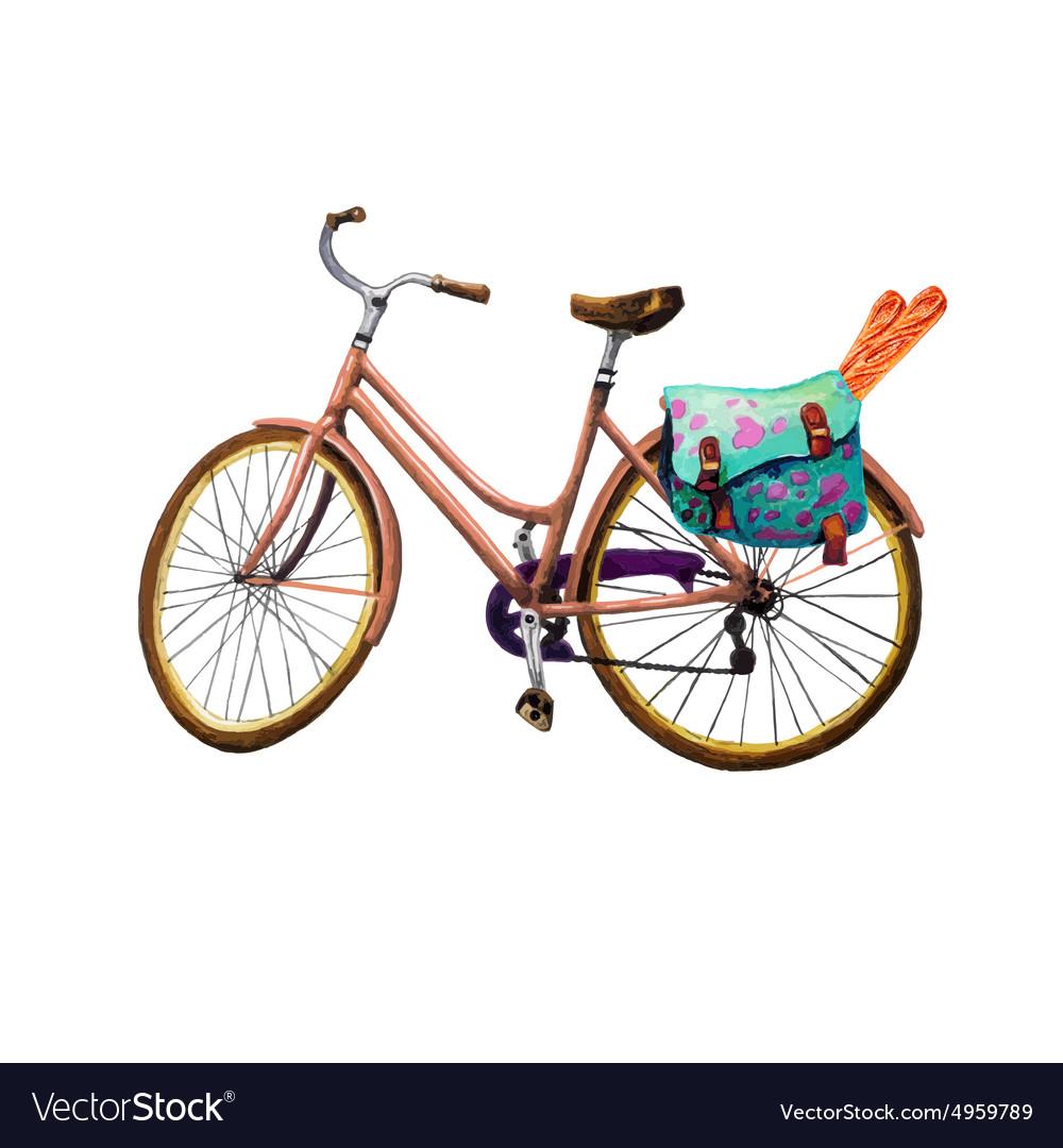 Bike Baguette and Bag