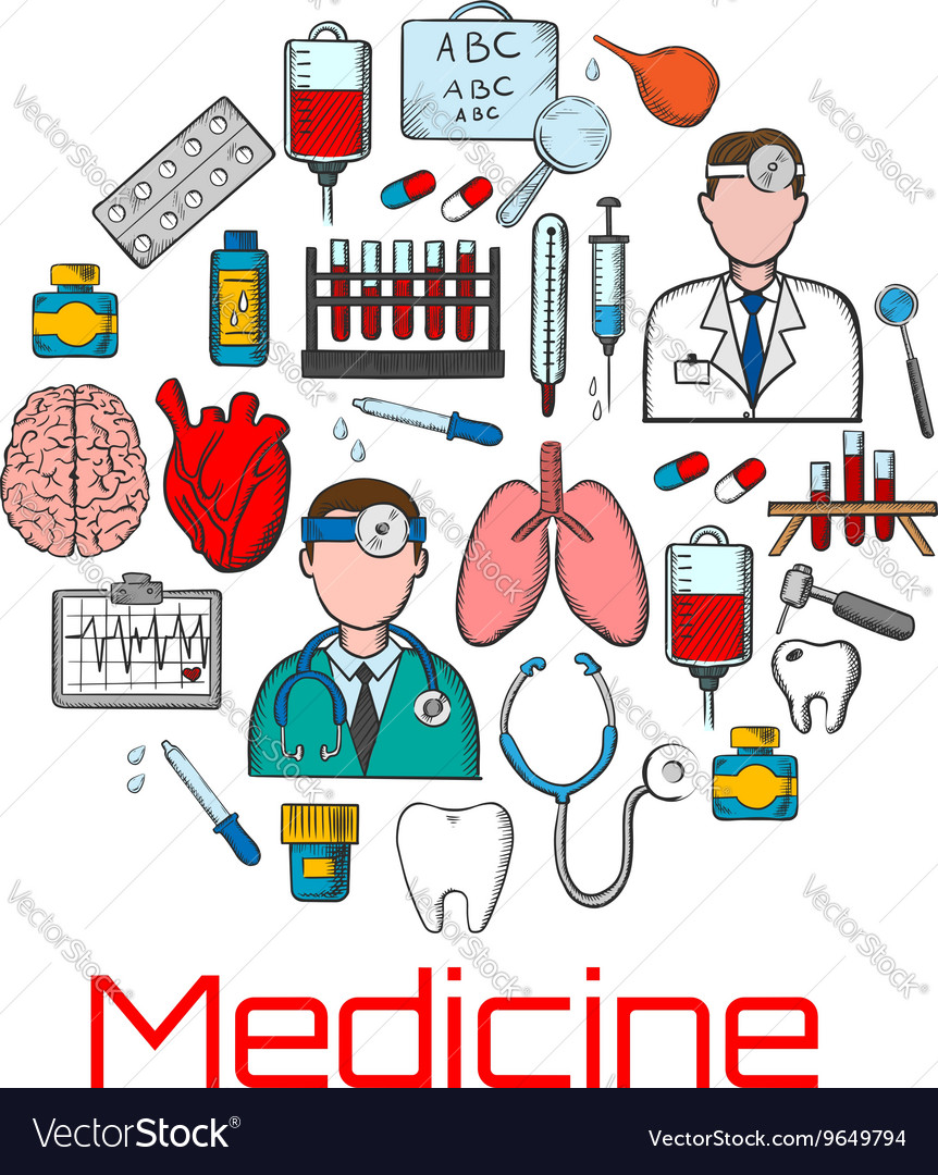 General medicine and healthcare sketches