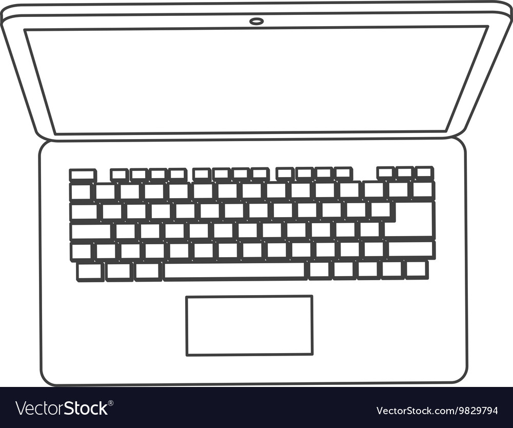 Laptop topview icon