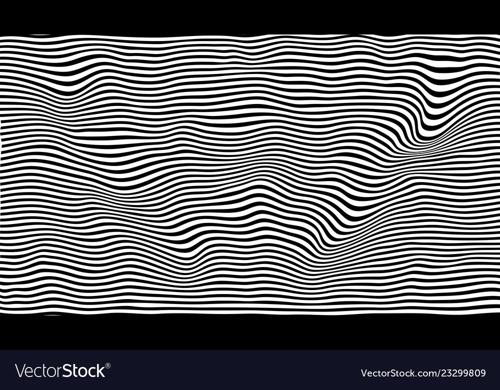 Wavy stripes background