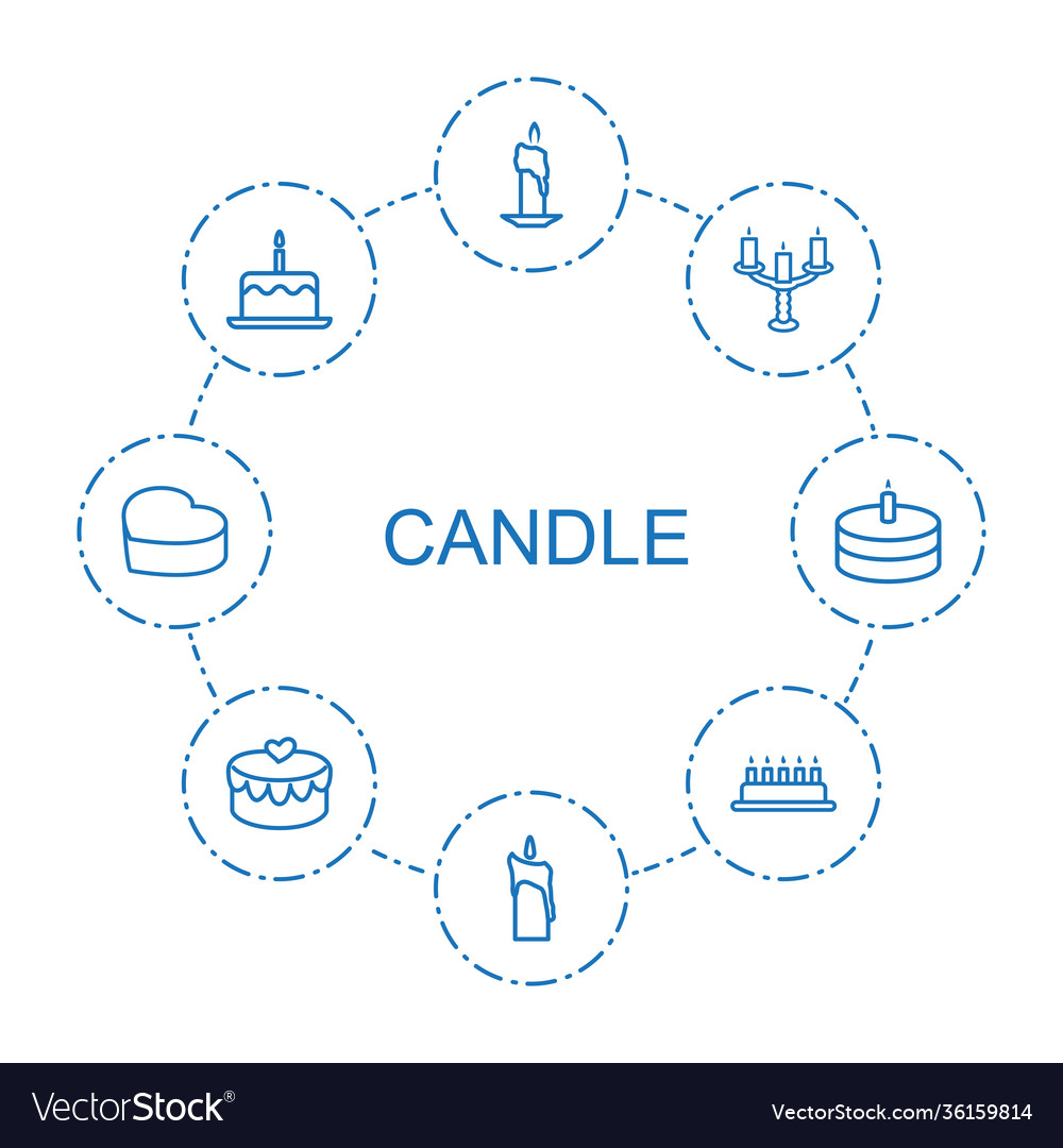 Candle icons