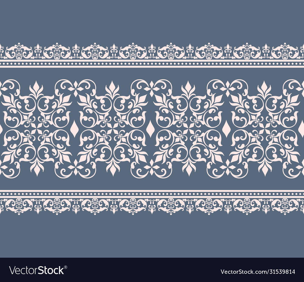 Damask border element and page decoration