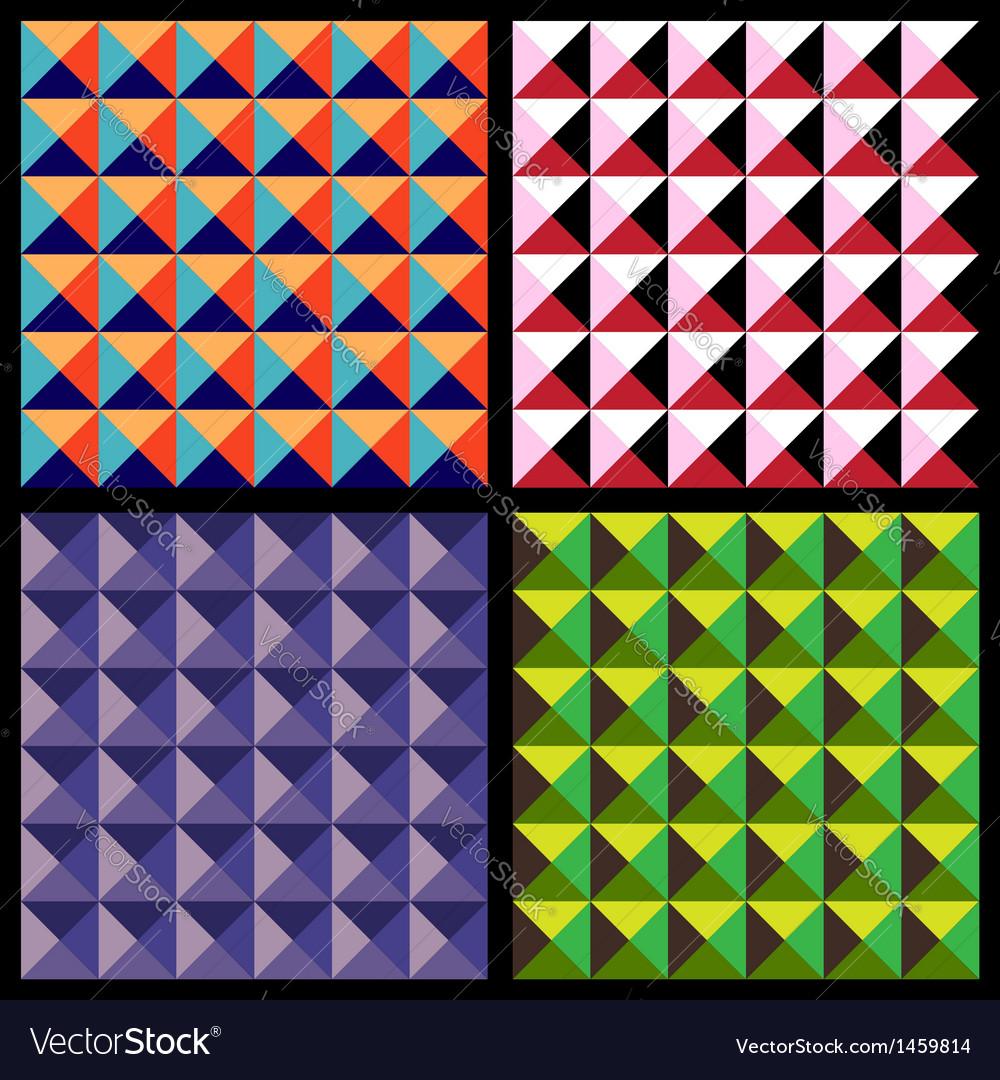 Set geometrical patterns