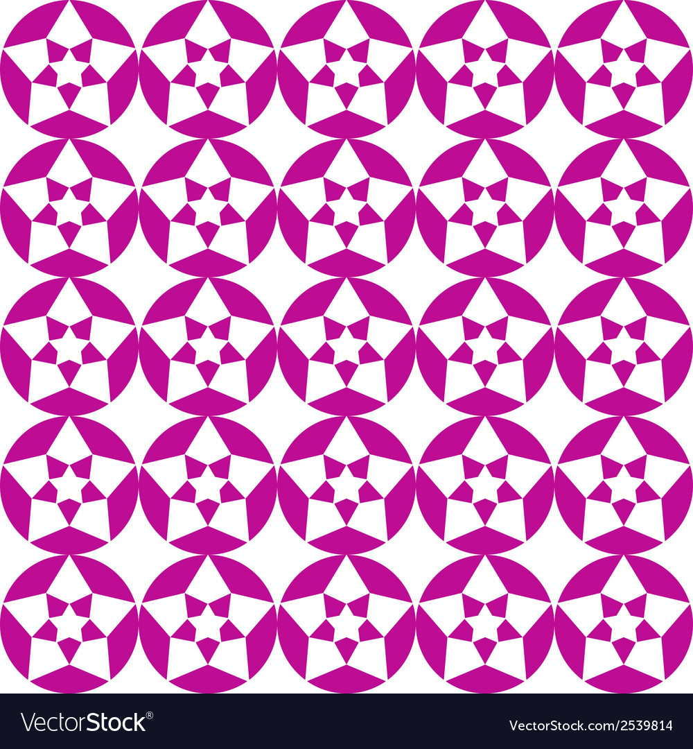Stars abstract seamless pattern