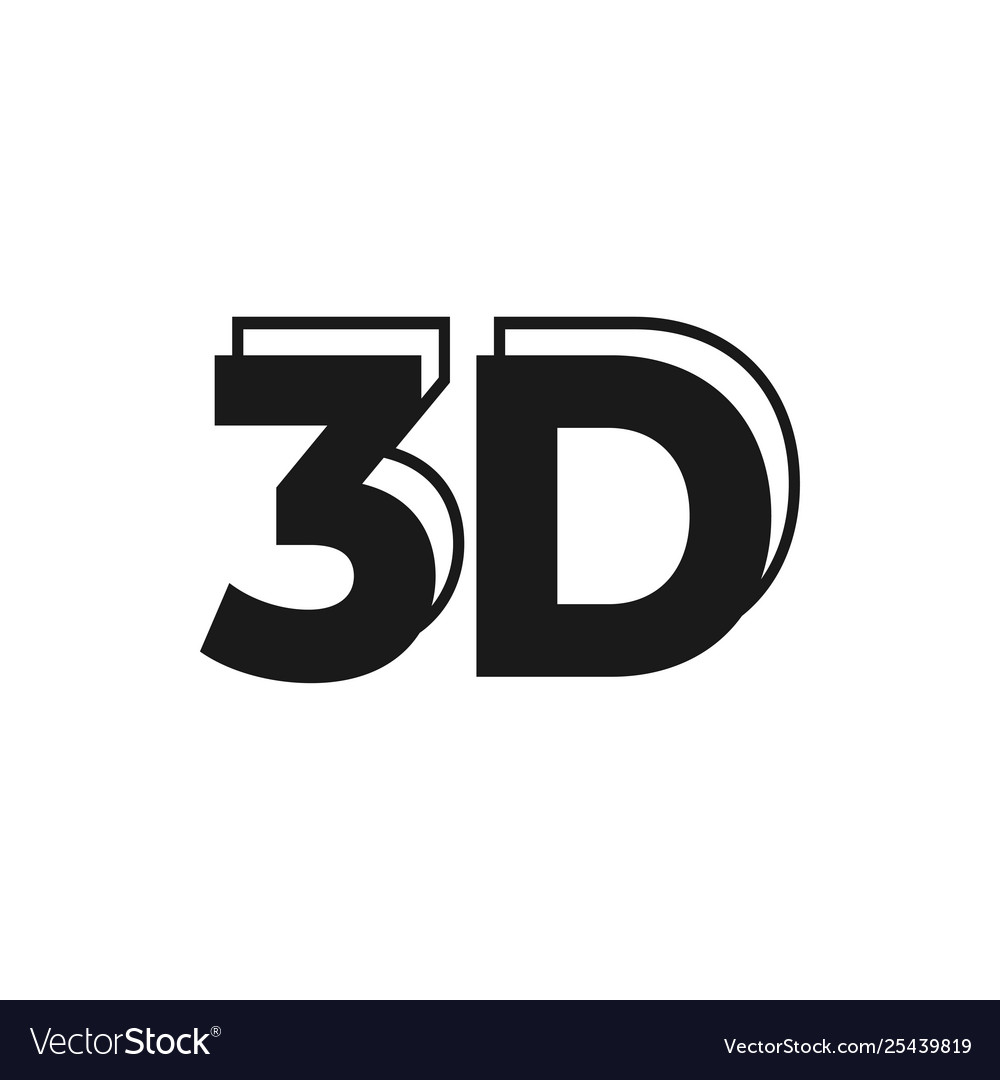 3d sign graphic design template