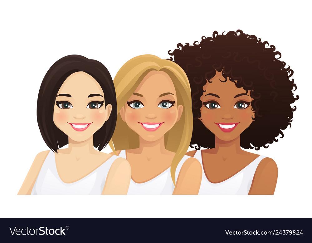 Multiethnic women