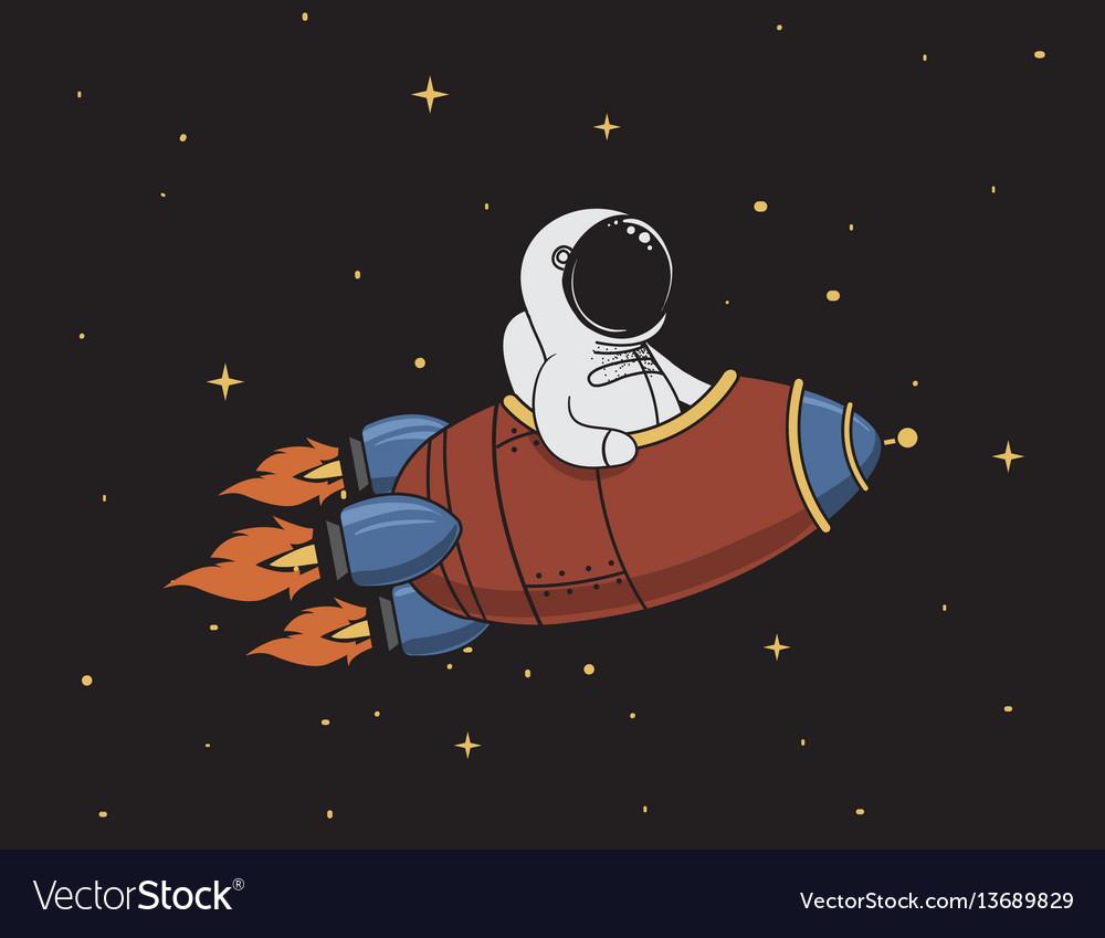 astronaut spaceship drawing - photo #24