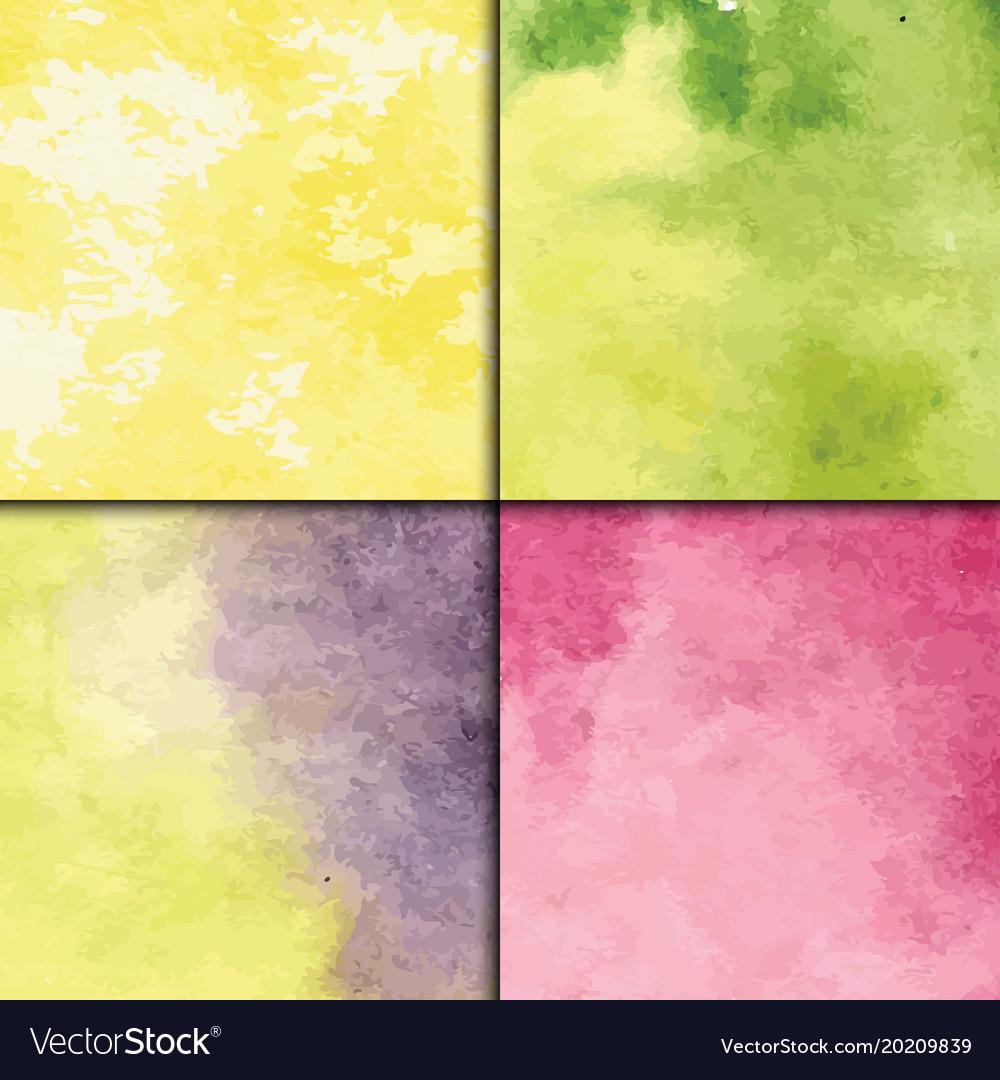 Art watercolor splash style seamless