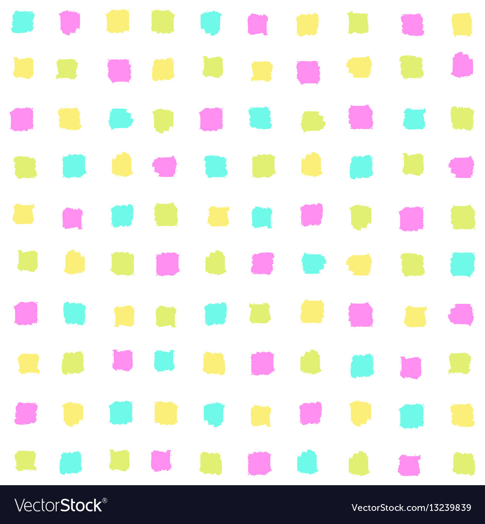 Bright squares seamless pattern