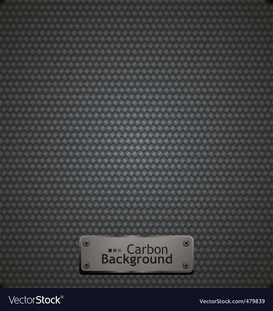 Carbon fiber pattern vector image