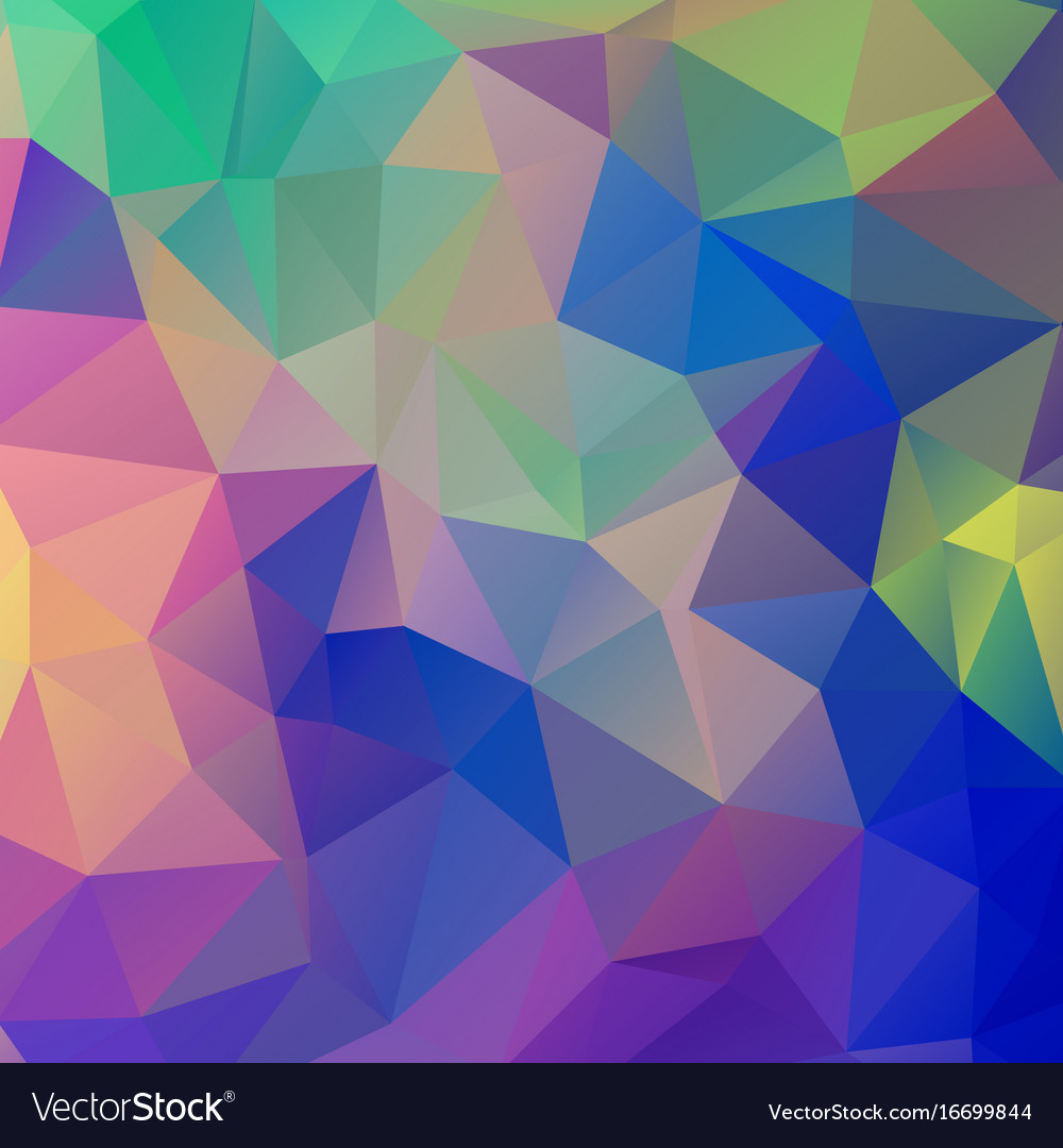 Abstract Geometric Wallpaper Polygonal Mosaic Vector Image