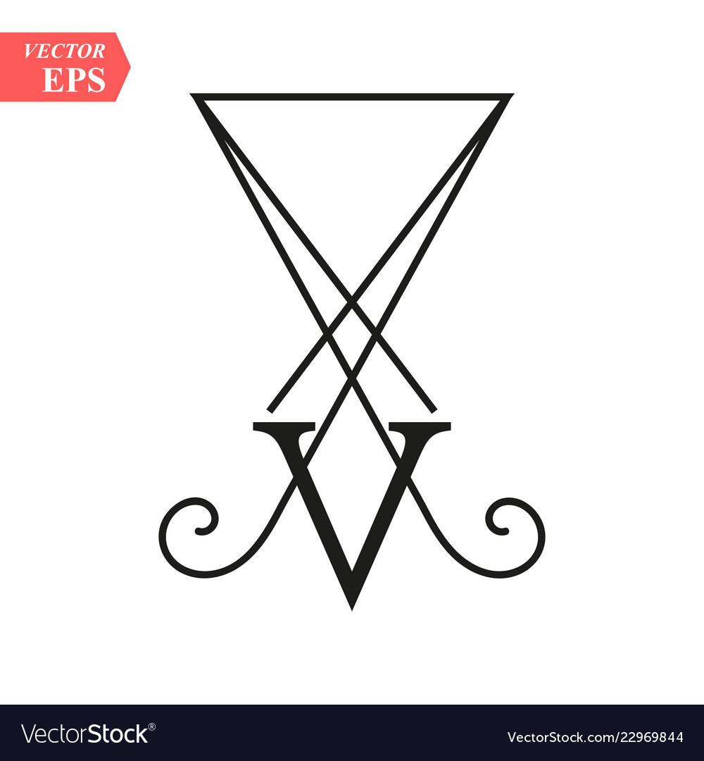 Lucifer light-bringing sigil of lucifer symbol