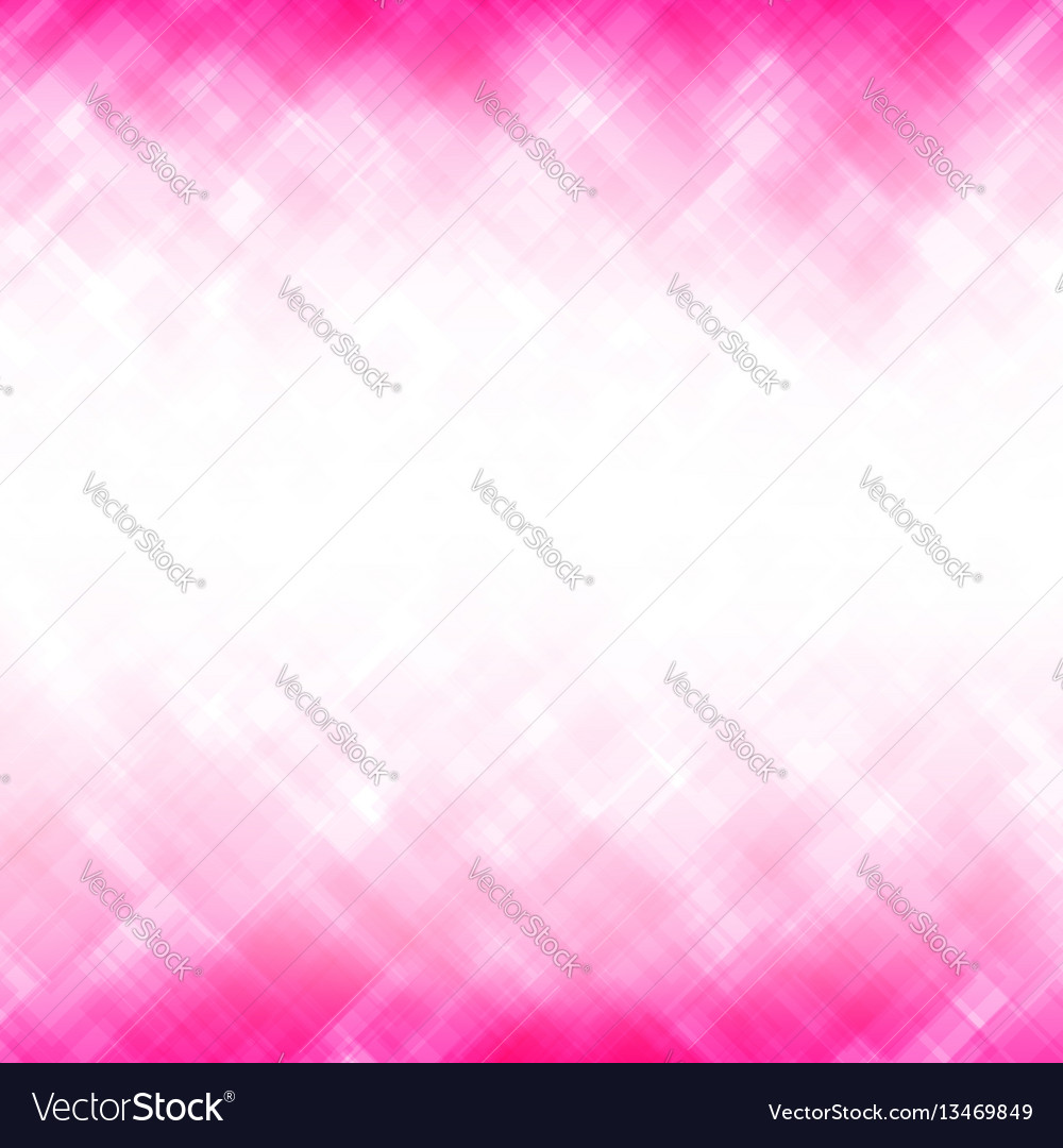 Abstract pink square mosaic pattern