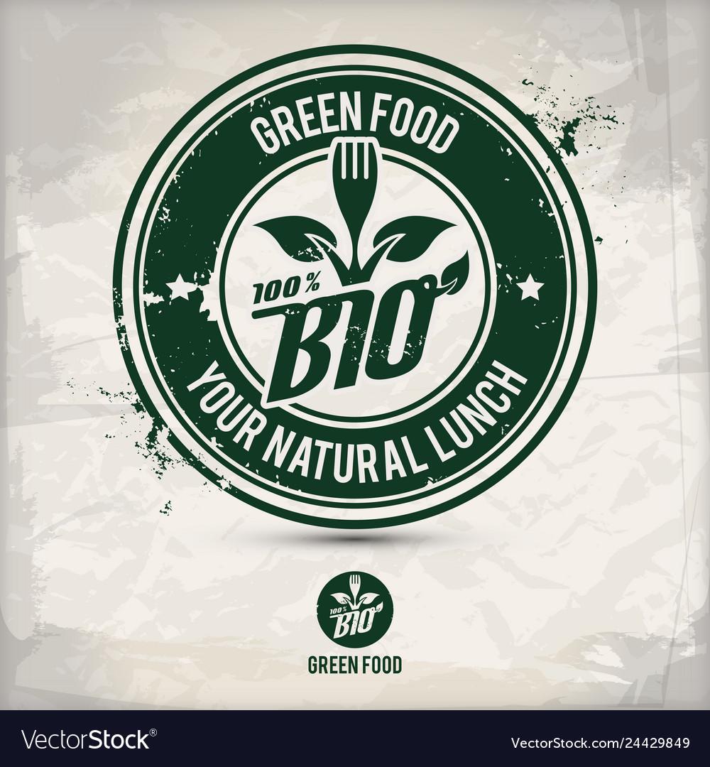 Alternative green food stamp