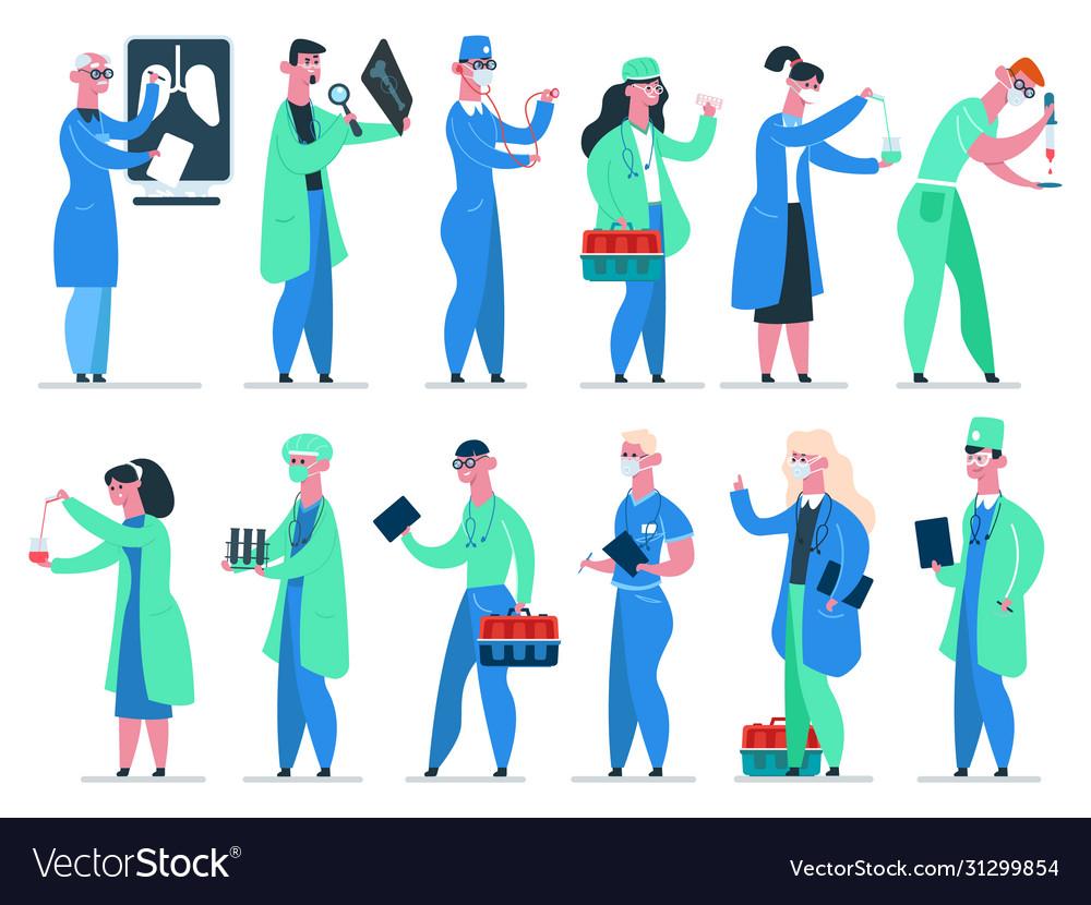Doctors team medicine hospital doctor medic