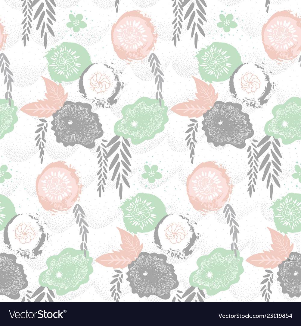 Floral japan style pattern