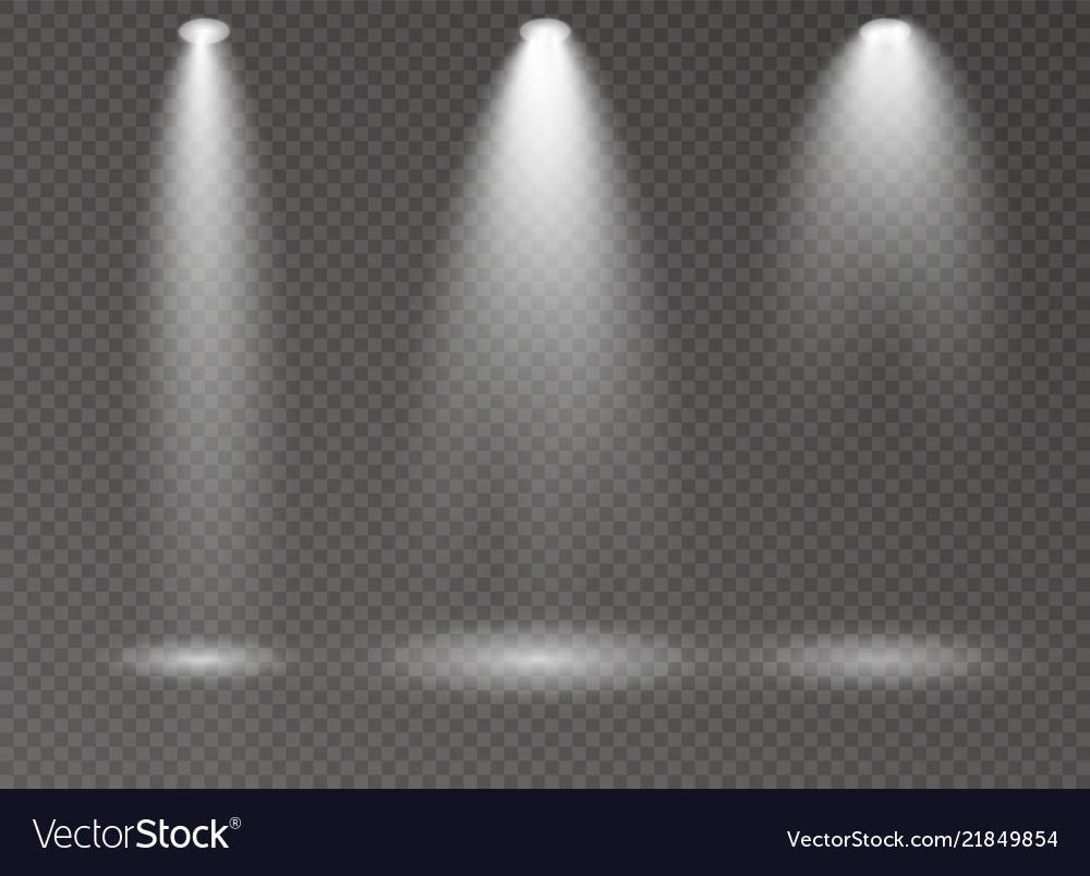 Spotlight light scene