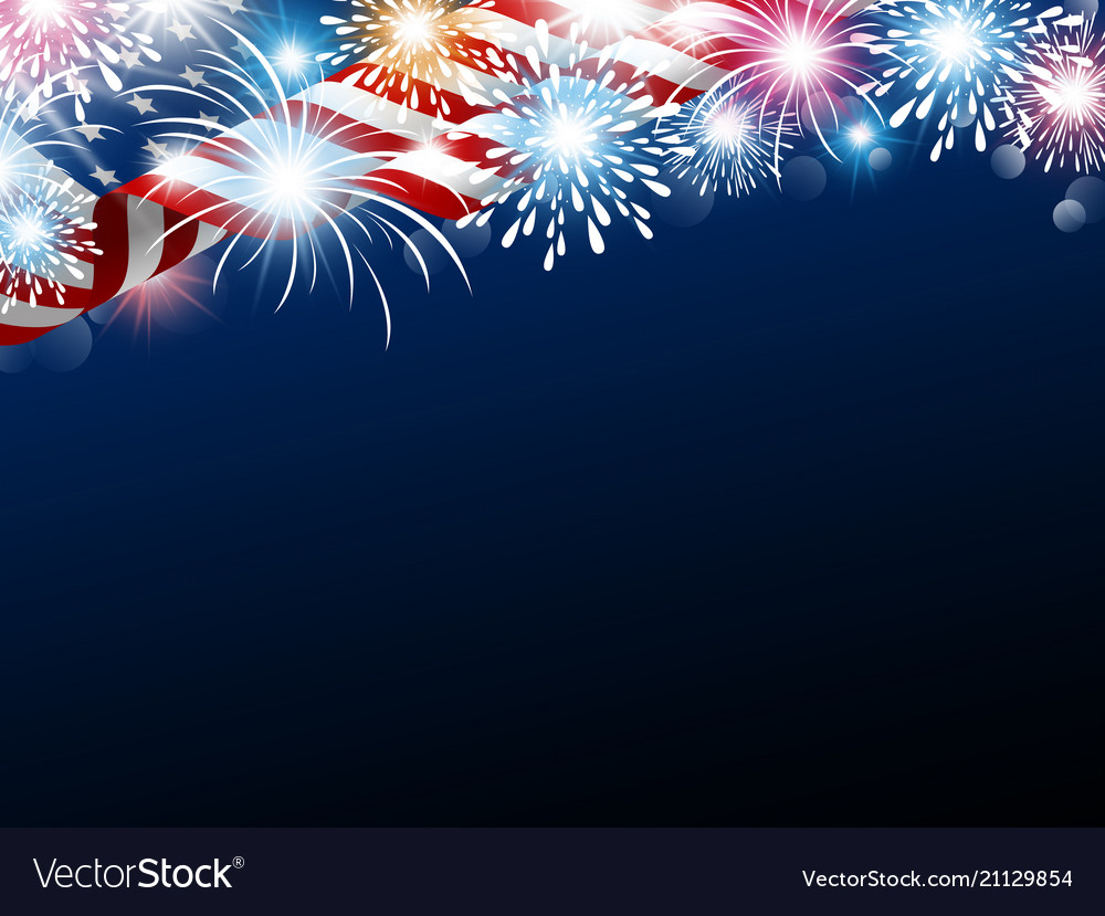 Usa 4th july independence day design american