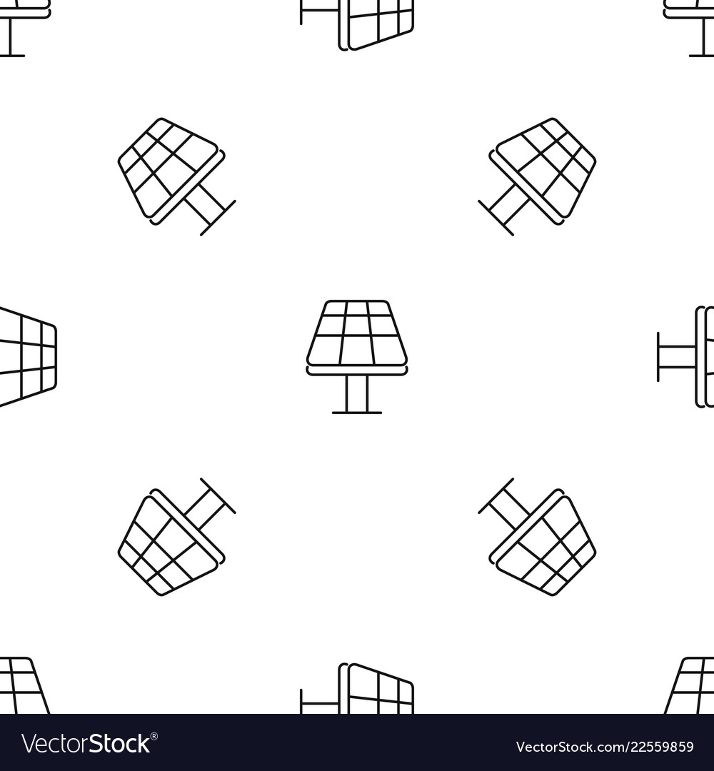 Sun panel pattern seamless