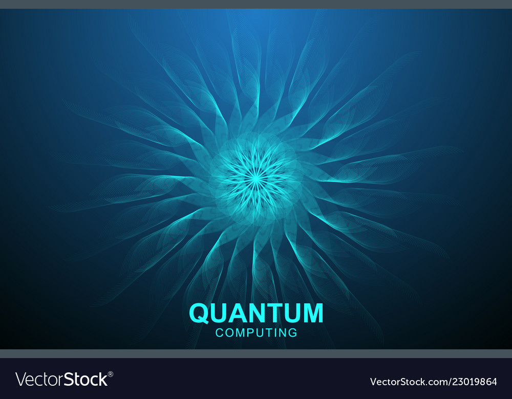 Quantum computer technology concept deep learning