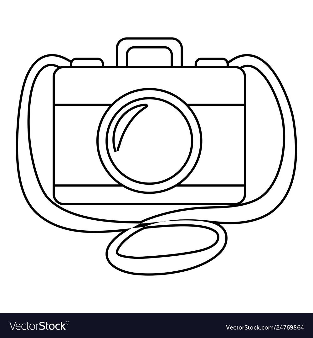 Vintage camera catoon