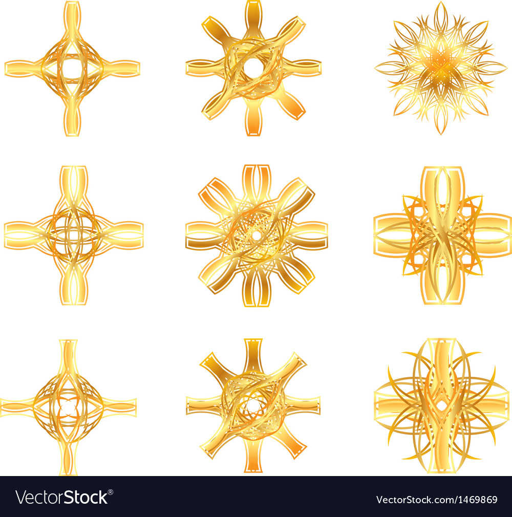 Gold star symbol