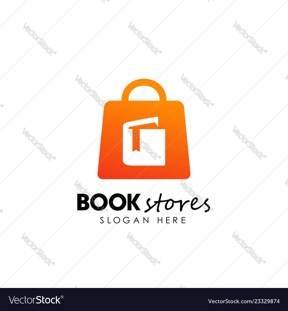 Book stores logo design book shop icon design
